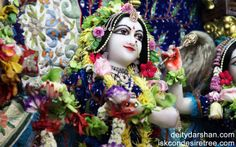 To view Radha Close Up Wallpaper of ISKCON Chowpatty in difference sizes visit - http://harekrishnawallpapers.com/srimati-radharani-close-up-wallpaper-050/