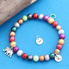 Freshwater Pearl Bracelet MAKE YOUR OWN Bracelet   by MonyArt, $25.80
