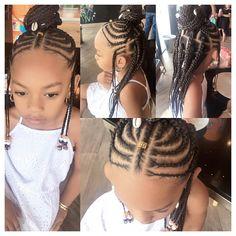 Fulani Braids, Cute Hairstyles, Dreadlocks, Hair Styles, Girls, Beauty, Hair Plait Styles, Toddler Girls, Daughters