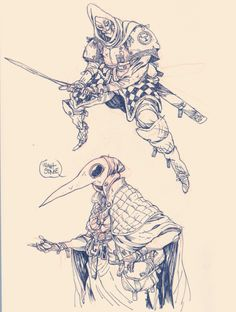 http://blackyjunkgallery.tumblr.com/post/121768016725/some-knights-and-scavengers