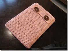 sleeve for tablet or reader - crochet tutorial