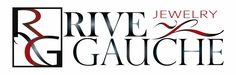 Rive Gauche Jewelry, Inc., New York City Designed by ycArt design studio. www.ycartdesign.com #branding #logo #ycArtdesign