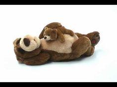 ▶ GUND Snoring Papa Bear and Little Bear - YouTube