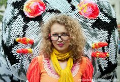 Obsessed to crochet knitting Agata Olek