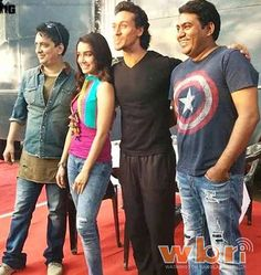 The BAAGHI team had fun bringing in producer Sajid Nadiadwala's 50th birthday on the sets. He was joined by director Sabbir Khan, and the lead pair of the movie, Tiger Shroff and Shraddha Kapoor along with others.  Read more: http://www.washingtonbanglaradio.com/content/baaghi-sajid-nadiadwala-surprised-birthday#ixzz40l6XBctD  Via Washington Bangla Radio®  Follow us: @tollywood_CCU on Twitter  #shraddhakapoor #tigershroff #baaghi