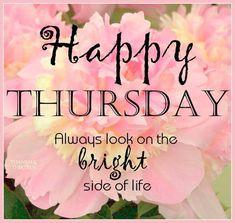 Good morning my beautiful girls. Happy Thursday :)