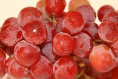 Top 10 Treats to Satisfy Your Sweet Tooth. Mmmm...frozen grapes!