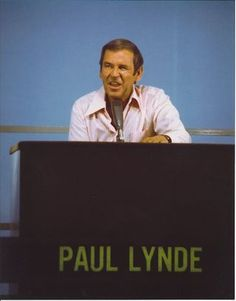 The Hollywood Squares ~ Paul Lynde at Center Square