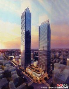 Changsha IFS Tower T1, Changsha-China, 452 m, UC, architect-Wong Tung & Partners