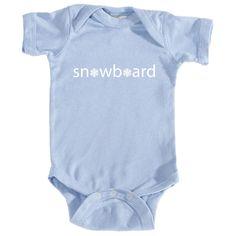 Snowboard Snowflake - Infant Onesie/Bodysuit