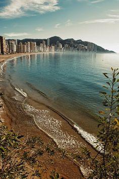 **Benidorm ~ Mediterranean Sea, Marina Baixa, Alicante, Valencian community, Spain by Vicente Gonzalez