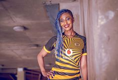 Nike Launch Kaizer Chiefs Home Shirt - SoccerBible Kaizer Chiefs, Soccer Teams, Anniversary Logo, Football Outfits, Black Stripes, The Past, Product Launch, Game, Sports