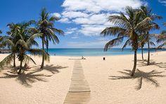 Imagen de Michael S. Schwarzer en la playa de El Reducto, en la capital de Lanzarote. Arrecife.