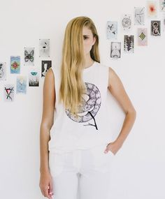 Mother of Wands Muscle Tee by The Wild Unknown