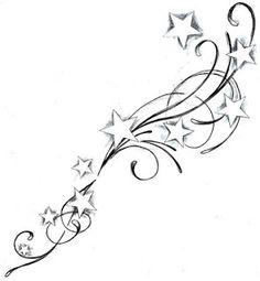 Star Tattoos* add to my foot tattoo* Mom Tattoos, Trendy Tattoos, Body Art Tattoos, Sleeve Tattoos, Tattoos For Women, Tatoos, Star Foot Tattoos, Wrist Tattoos, Lotus Tattoo Design