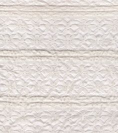 Azure Collection- Ruffle Lace Ivory Nylon Cotton FabricAzure Collection- Ruffle Lace Ivory Nylon Cotton Fabric,
