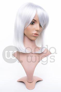 Cosplay Wig Inigo Silver CL-082