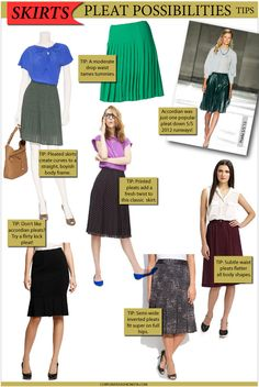 Spring fashion 2012: The comeback kid...pleat skirts!