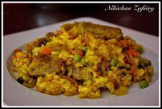 Puerto Rican Recipes, Cuban Recipes, Rice Recipes, My Recipes, Cooking Recipes, Spanish Recipes, Couscous, Parmesan Orzo, Quinoa