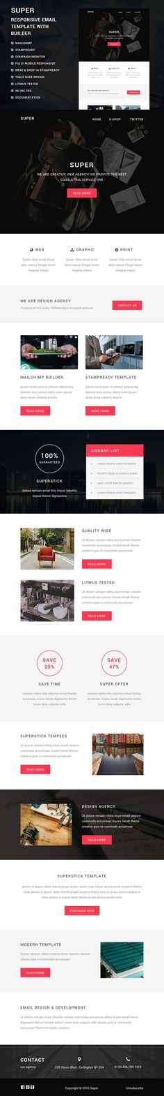 Corporate Responsive Email Template  Email Templates Business