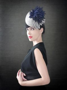 Thoroughly modern millinery. #etsyfinds