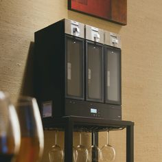 The 3 chamber wine preservation system is the first home wine structure to chill, pour and preserve your wine all in one.