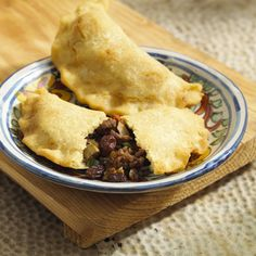 Beef Picadillo Empanadas - From Culinary Institute of America at Greystone: These little meat pies could be the hit of the party.