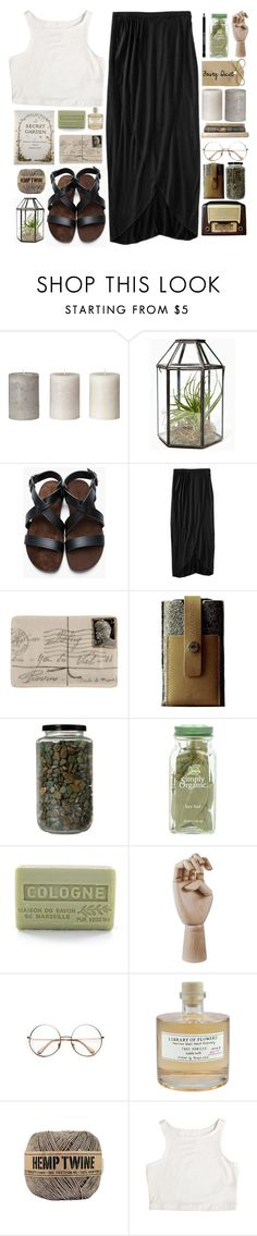 """""""Polished Oak"""" by susieqie ❤ liked on Polyvore featuring A.P.C., Mossimo, Charbonize, Branche d'Olive, HAY, Retrò, Library of Flowers and Givenchy"""