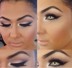 beautiful #eyes #makeup #eyebrows