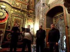 Russian Men's Choir Inside St Basil's Cathedral - Valaam Monastery Chant
