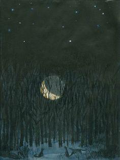 Rob Dunlavey: La lune du loup.