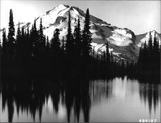 Forest Service - Telephoto of Glacier Peak from Image Lake. Time Tattoos, Xoil Tattoos, Forearm Tattoos, Tattoo Ink, Forrest Tattoo, Natur Tattoo Arm, Lake Tattoo, Mountain Drawing, Forest Service