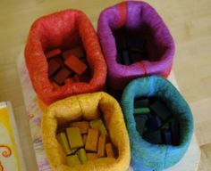 waldorf mama: felted boxes...