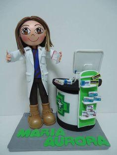 Fofucha Personalizada Farmacéutica Goma Eva