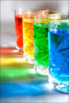 Guilty: colorful drinks