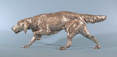 English Setter on Point, ca. 1860  Artist Unknown As an English Setter owner you know I love all antique English Setter bronzes