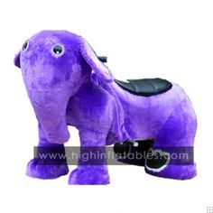 purple elephant toy car