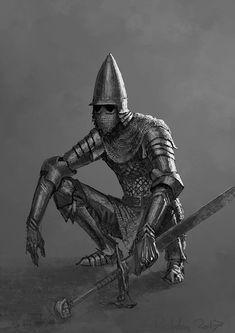 The Farron, Knight Corporal & Shadow Council Guard of the Insidium Fantasy Character Design, Character Design Inspiration, Character Art, Armadura Medieval, Medieval Armor, Medieval Fantasy, Fantasy Armor, Dark Fantasy Art, Dnd Characters