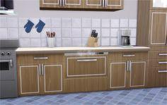 The Sims 4   Veranka's Alpha Beta Phong Dishwasher bg compatible SP03 Cool Kitchen AddOn   buy mode appliance