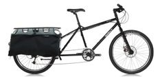 """XtraCycle Surly 21 Speed """"Big Dummy"""" with """"Hooptie"""" bars @ rear"""