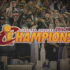 The 52-year drought is over, Cleveland.  WE are the champions. #OneForTheLand