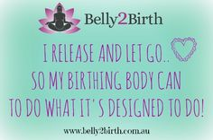 Positive Pregnancy & Birth Affirmation Quotes for a Clam and Positive Birth