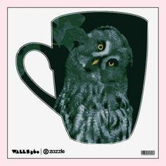 Great Grey Owl Wall Decal
