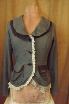 Victorian Design Lagenlook Upcycled Romantic by bluemermaiddesigns, $72.00
