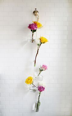 DIY Glass Flower Vase Wall Hanging Decor – The Unique DIY Wall Hanging Decor Ideas which make your home more personality. Collect all DIY Wall Hanging ideas on Wall Hanging to Personalize your living space.