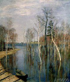 Isaak Ilyich Levitan - Spring, High Water, 1897