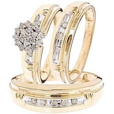 high end wedding gold bands - Google Search