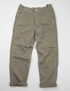 orSlow Moss US Army Trouser