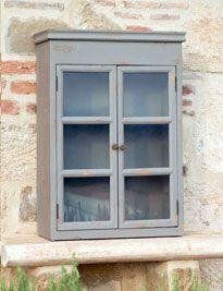 Pensilino grigio chiuso con vetri
