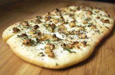 My go to recipe for flatbread dough. Its fast to make and makes a GREAT thin crust pizza (flat bread sandwich recipes) Flatbread Recipes, Flatbread Pizza, Pizza Recipes, Cooking Recipes, Sandwich Recipes, Recipes Dinner, Easy Recipes, Easy Meals, Thin Crust Pizza